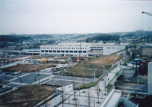 都筑区役所屋上から北東方向