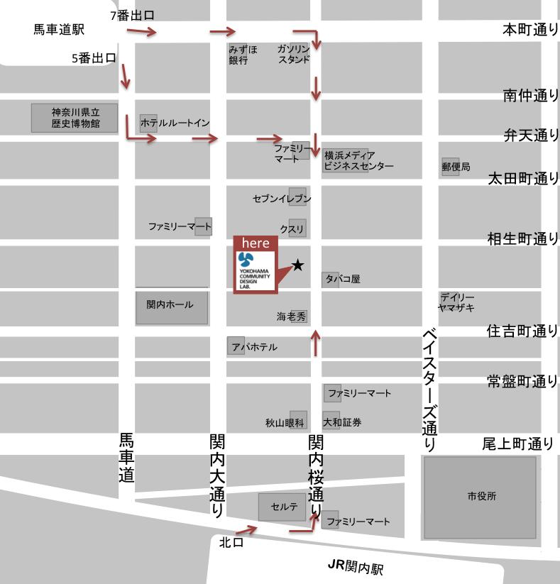 map to sakuraWORKSkannai